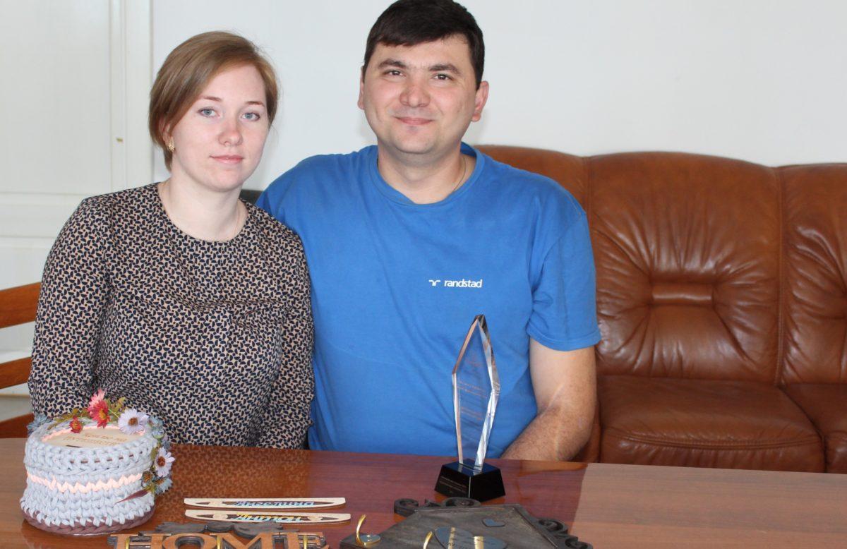 Виктория и Максим Волошины